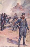 Guerre 14-18, Armée Française, Artillerie Légère, Illustrateur Charles Fouqueray (2206) - Guerra 1914-18