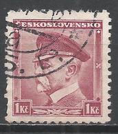Czechoslovakia 1935. Scott #212 (U) President Masaryk. * - Tchécoslovaquie