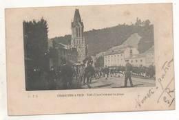 39201 -  Tilff  Chasseurs à  Pied  -  Arrivée  Sur  La  Place - Esneux