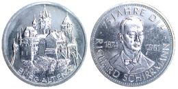 05231 GETTONE TOKEN JETON MUNICIPAL COMMEMORATIVE BURG ALTENA 5 JAHRED DIH RICHARD SCHIRRMANN 1874-1961 - Allemagne