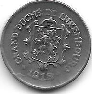 *LUXEMBOURG 5 CENTIMES 1918  KM 30 Xf - Luxembourg