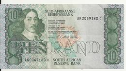 AFRIQUE DU SUD 10 RAND ND1990-93 VF+ P 120 E - Afrique Du Sud