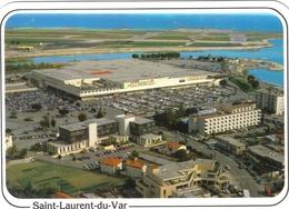 Carte Postale 83. Saint-Laurent-du-Var  CAP 3000 Centre Commercial   Très Beau Plan - France