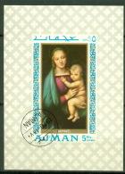 Ajman Block 66 O Gemälde - Adschman