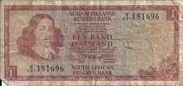 AFRIQUE DU SUD 1 RAND ND1967 VG+ P 110 B - Afrique Du Sud