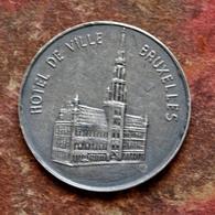 """Jeton Ancien """"Ville De Bruxelles / Armoiries Brabant"""" Belgique - Brussels Token - Royaux / De Noblesse"""