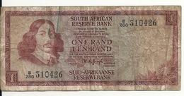 AFRIQUE DU SUD 1 RAND ND1967 VG+ P 109 B - Afrique Du Sud