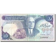 Billet, Tunisie, 10 Dinars, 1983, 1983-11-03, KM:80, TTB - Tunisia