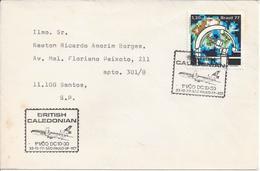 BRAZIL - 1971/1977 - COMMEMORATIVE STAMP - FIRST FLIGHTS - BRITISH CALEDONIAN ......... WNV - Aerei