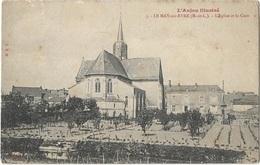 LE MAY Sur EVRE .49. Les Jardins Autour De L'église.la Cure - Otros Municipios