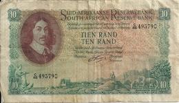 AFRIQUE DU SUD 10 RAND ND1962-65 VG+ P 107 B - Afrique Du Sud