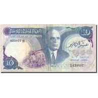Billet, Tunisie, 10 Dinars, 1983, 1983-11-03, KM:80, TB+ - Tunisie