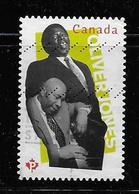 CANADA, 2013,USED #2619,  BLACK HISTORY:  OLIVER JONES, CANADIAN MUSICIANS   JAZZ - 1952-.... Règne D'Elizabeth II