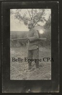 Allemagne / Germany - Soldat / Casque à Pointe / Fusil +++ WWI +++ CARTE-PHOTO / Real Photo Postcard - Allemagne