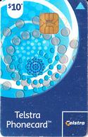 AUSTRALIA(chip) - Blue Circles($10), Chip IN1, Exp.date 30/04/08, Used - Australia