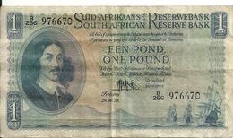 AFRIQUE DU SUD 1 RAND 1956 VF P 93 E - Afrique Du Sud