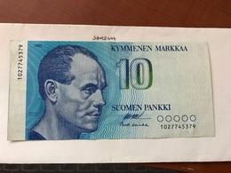 Finland 10 Markkaa Banknote 1986 - Finland