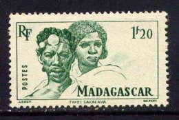 MADAGASCAR  - 307* - TYPES SAKALAVE - Neufs