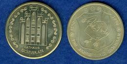 Medaille 750 Jahre Schwaan Rathaus 35mm - Germany