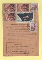 Ordre De Reexpedition Temporaire - Condom Gers - Sanary Var - 1966 - 15 Jours - Postmark Collection (Covers)