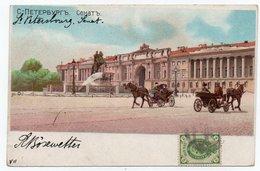 RUSSIA / RUSSIE - ST.PETERSBOURG - SENAT / CIRCULATED TO POLA 1900 - Russia