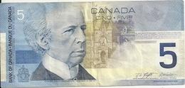 CANADA 5 DOLLARS 2002 VF P 101 - Canada