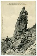 14 : VIERVILLE SUR MER - LES EBOUIS DANS LA FALAISE, LA DENT DE NEPTUNE - France