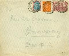 Deutsches Reich 115,132,189 Auf Brief Petersdorf-Riesengebirge 27.10.22 - Deutschland