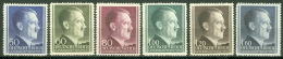 Generalgouvernement 83/88A ** Postfrisch - 1939-44: 2. WK