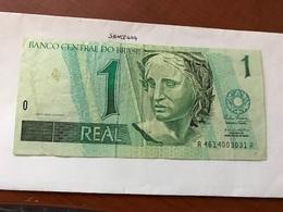 Brasil 1 Real Banknote 1994 - Brazil