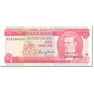 Billet, Barbados, 1 Dollar, 1973, Undated (1973), KM:29a, NEUF - Barbades