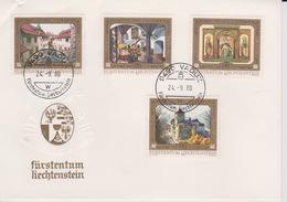 Liechtenstein 1980 Paintings FDC - Liechtenstein