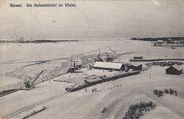 Memel - Die Hafeneinfahrt Im Winter - Lithuania