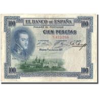 Billet, Espagne, 100 Pesetas, 1925, 1925-07-01, KM:69a, TB+ - 100 Pesetas