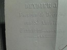 FRANCE  Napoléon Sur Lettre TTB - 1853-1860 Napoleon III