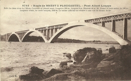 BREST  --route De B. à PLOUGASTEL - Pont Albert Louppe .                              -- - Brest