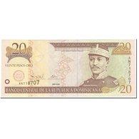 Billet, Dominican Republic, 20 Pesos Oro, 2000, UNDATED (2000), KM:160a, NEUF - Dominicaine
