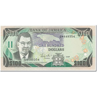 Billet, Jamaica, 100 Dollars, 1987, 1987-09-01, KM:74, NEUF - Jamaique