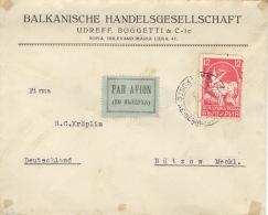 Bulgarien 238 Auf Luftpostbrief Nach Deutschland - 1909-45 Königreich