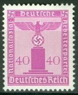 Deutsches Reich Dienst 165 ** Postfrisch - Dienstpost