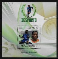 MOZAMBIQUE  BF  ( 2010 )  * * Football Soccer Fussball Drogba - Neufs