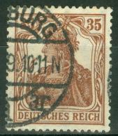 Deutsches Reich 103a O Gepr. Infla - Deutschland