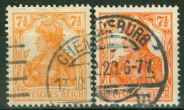 Deutsches Reich 99a+b O Gepr. Anke - Deutschland