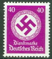 Deutsches Reich Dienst 142 ** Postfrisch - Dienstpost