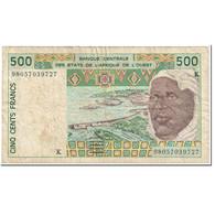 Billet, West African States, 500 Francs, 1998, Undated (1998), KM:710Ki, TB - États D'Afrique De L'Ouest