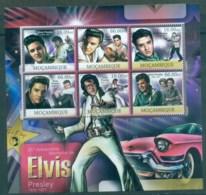 Mozambique 2012 Famous People, Music, Male, Elvis Presley MS MUH MOZ12328a - Mozambique