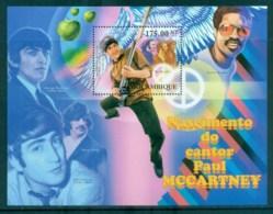 Mozambique 2012 Famous People, Music, Male, Paul McCartney, Beatles MS MUH MOZ034 - Mozambique