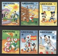 Grenada 1723/28 ** Postfrisch Walt-Disney-Figuren - Grenada (1974-...)