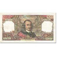 France, 100 Francs, 100 F 1964-1979 ''Corneille'', 1977, 1977-02-04, TB - 1962-1997 ''Francs''