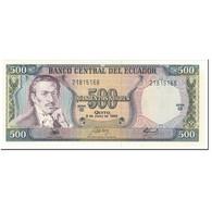 Billet, Équateur, 500 Sucres, 1988, 1988-06-08, KM:124Aa, NEUF - Equateur